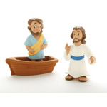 Jesus Walks on Water- Tales of Glory 3 pcs set