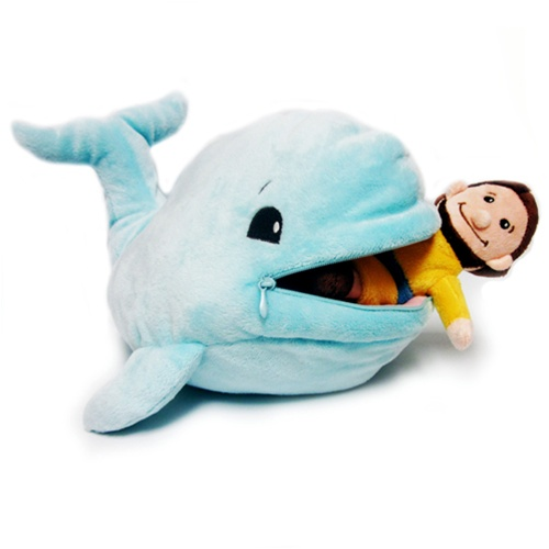 Bible toys jonah and the whale for Talking fish toy