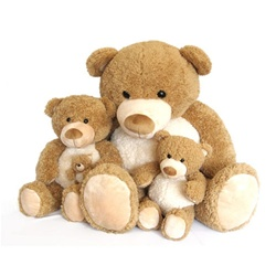 World's Softest Teddy Bears - Moe 5""