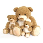 World's Softest Teddy Bears - Moe 36""