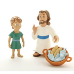 Jesus Feeds the Five Thousand - Tales of Glory 3 pcs set