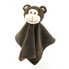 "Noah's Friends 10"" Monkey Blanket"