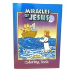Miracles of Jesus Coloring Book