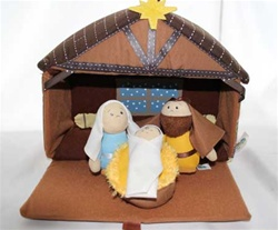 Plush Nativity 4pc Set